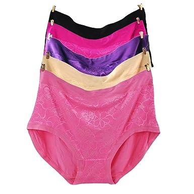 00b4c48554d MyGxR Women Panties Plus Size 10 11 12  22W 26W 28W Soft Bamboo Microfiber  Super