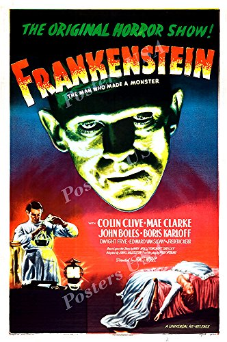 Posters USA Frankenstein GLOSSY FINISH Movie Poster - FIL875 (24