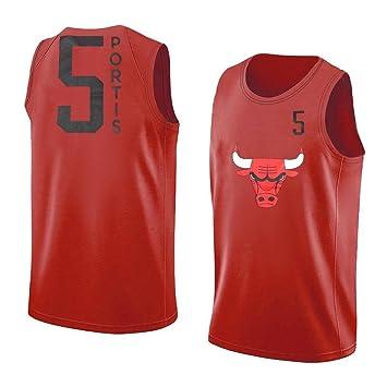Bobby Portis Chicago Bulls #5 NBA - Camiseta de tirantes para jóvenes, Youth XXL