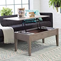Coffee Tables (Gray) Lift Top Rectangle Wood Cocktail Living Room End Table Side Modern Furniture