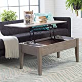 Cheap Coffee Tables (Gray) Lift Top Rectangle Wood Cocktail Living Room End Table Side Modern Furniture