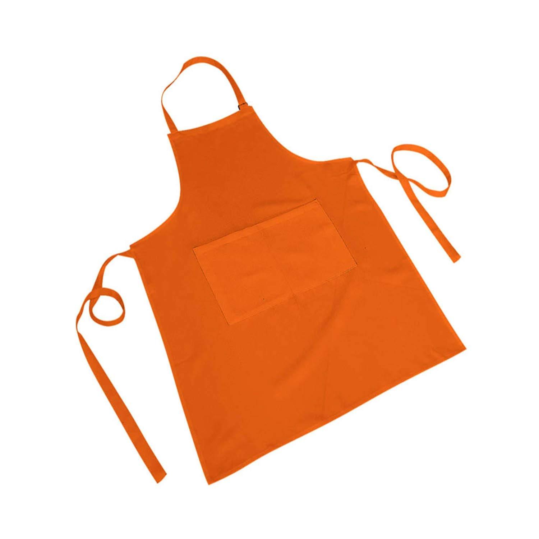 Ref.866 866 MISEMIYA Pack*1 Amarillo 35cm*55cm Delantal Cocina PEQUE/ÑO Delantal FRANC/ÉS Delantal Unisex Cocina Cafeteria Bar HOSTELERIA Delantal NI/ÑO 35mmx55mm