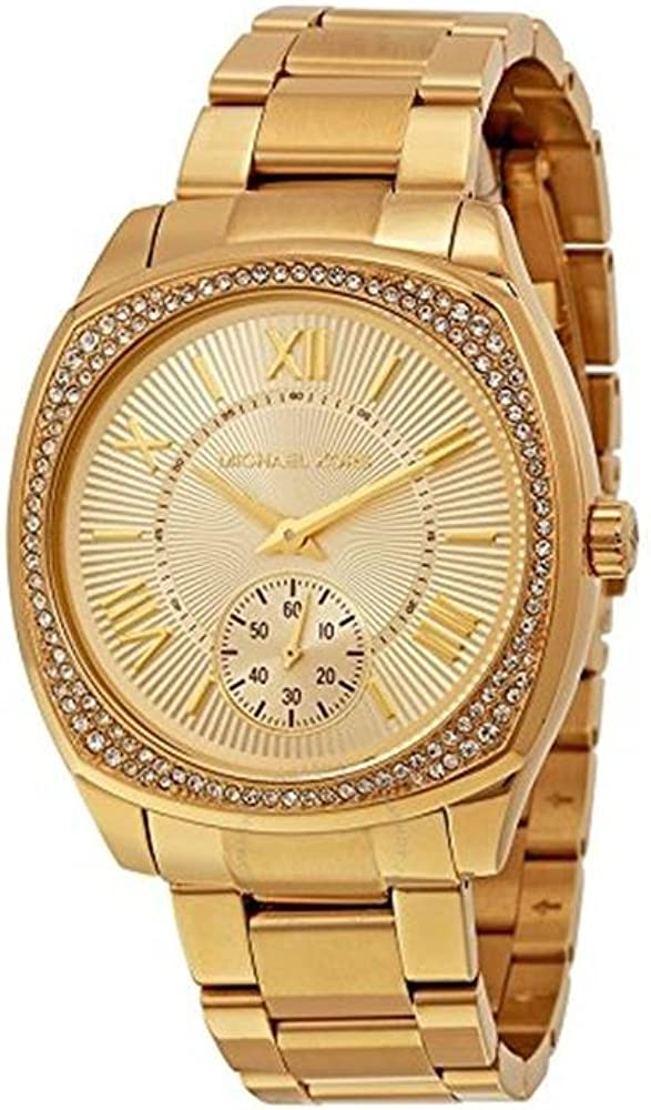 Michael Kors Women s Bryn Gold-Tone Watch MK6134