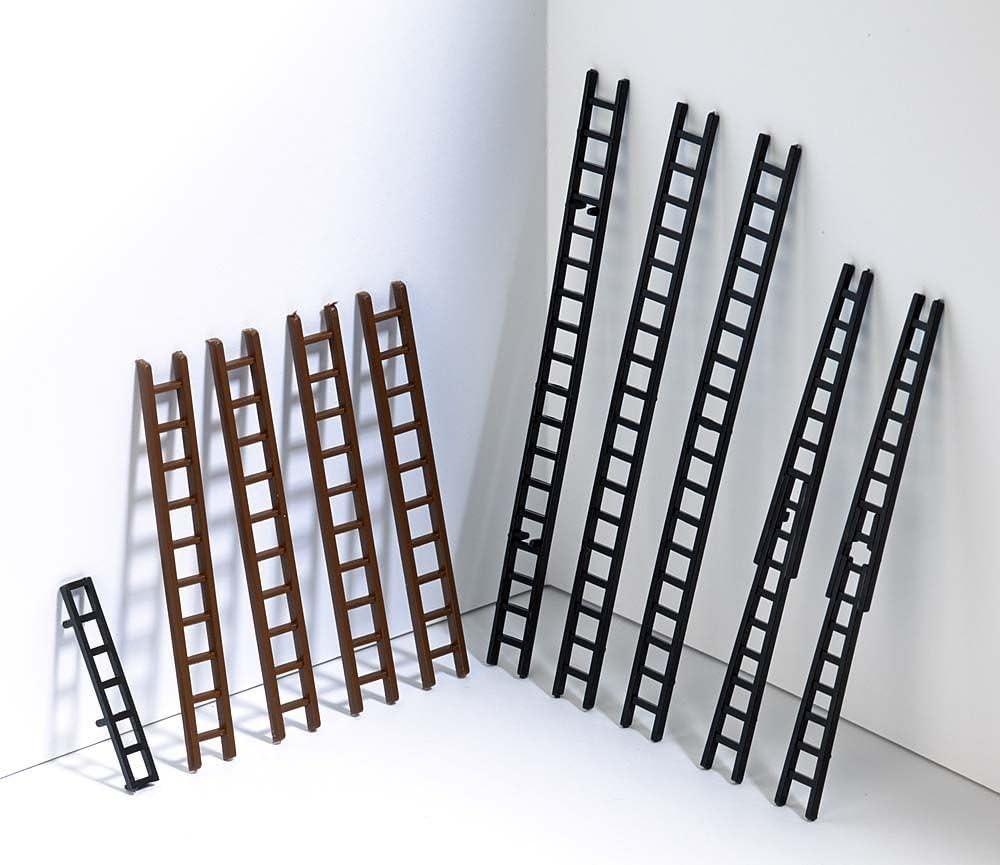 Busch 7786 Assorted Ladders 10// HO Scenery Scale Model Scenery