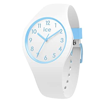meilleures baskets d0e0a c48a7 Amazon.com: Ice-Watch ICE OLA KIDS Cotton White 014425 Small ...