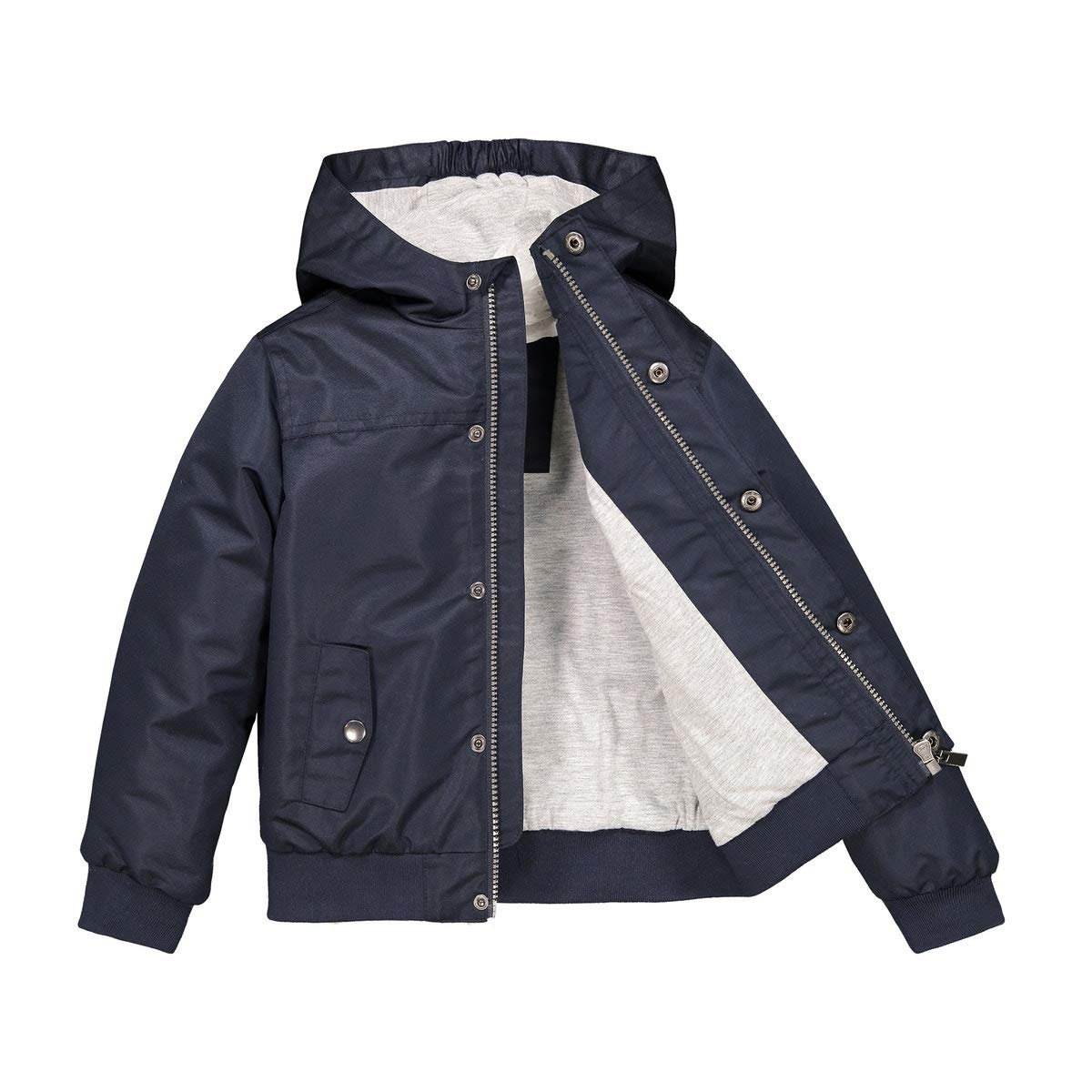La Redoute Collections Hooded Jacket, 3-12 Years Blue Size 10 Years (138 cm)