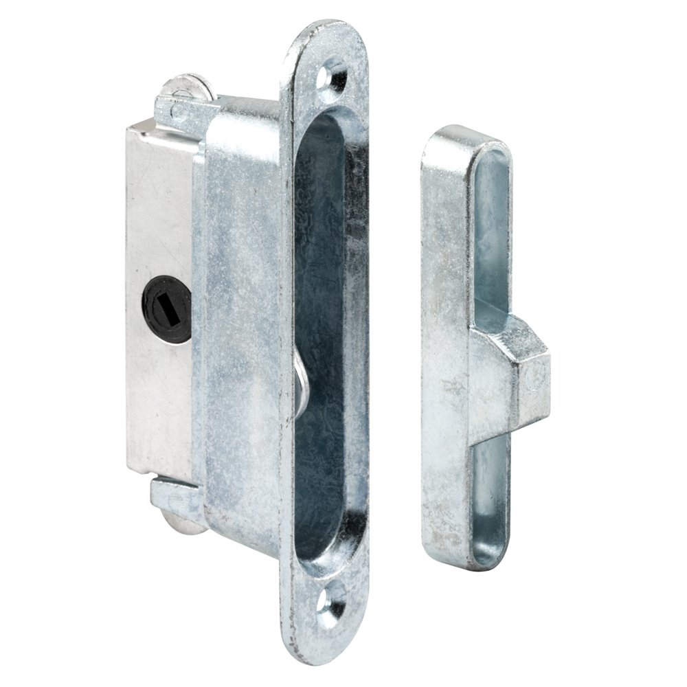 Prime-Line Products 152510 Sliding Door Lock and Keeper for Wood or Aluminum