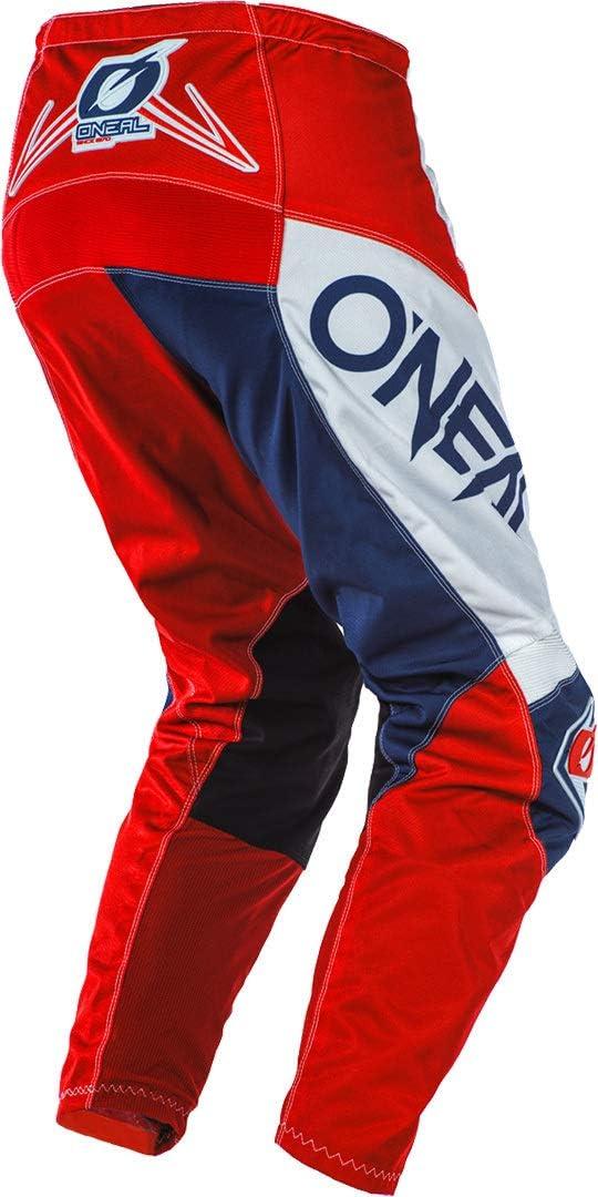 44 28 Gr/ö/ße ONEAL Element Factor MX DH MTB Pant Hose lang grau//blau//orange 2020 Oneal