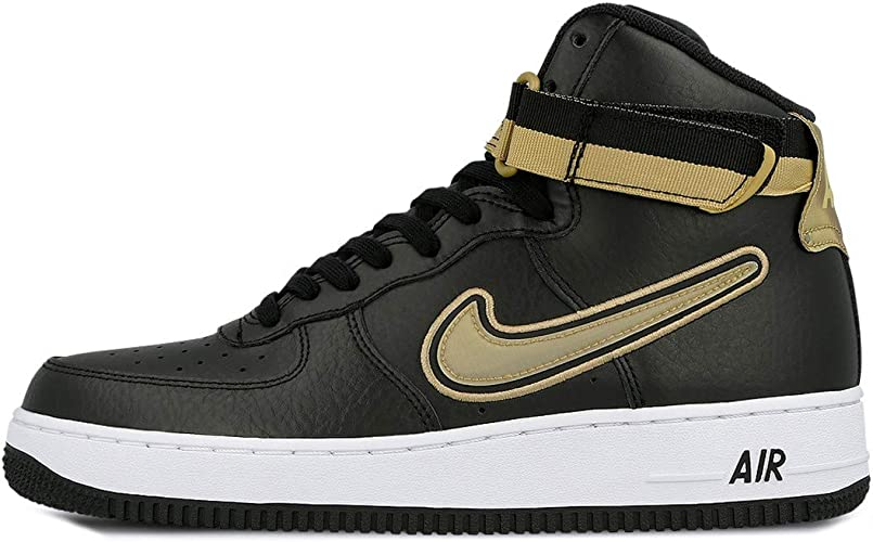 air force 1 uomo nere e oro
