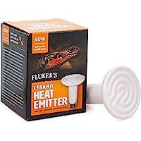 Fluker's Ceramic Heat Emitter - 60 W, 60 Watts, Black