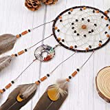 OUTUXED Dream Catchers Tree of Life Brown Handmade