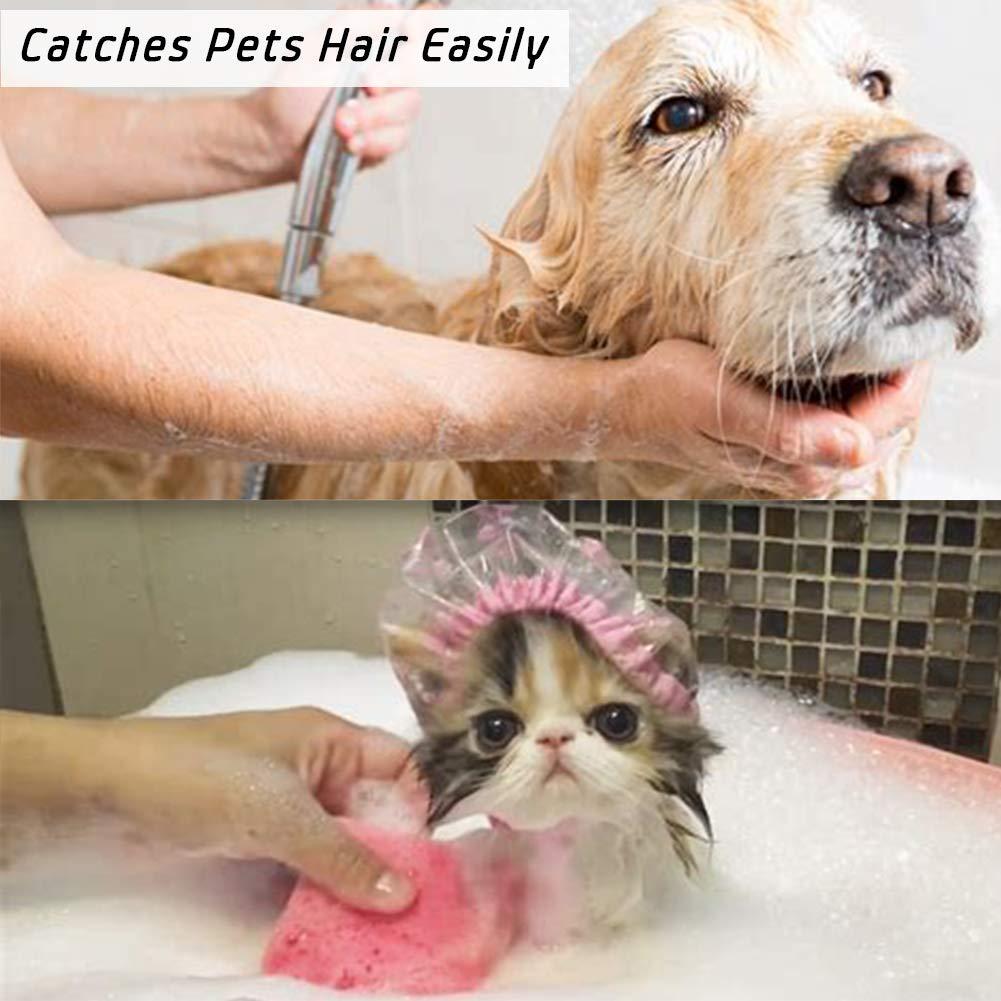 Upgraded Sieb//Snare f/ängt Haare leicht /& Keine Sorge von Stopping bis Das Wasser 1.46 to 1.79 Silber Aofmee Badewanne abflussschutz Haarsieb Match Standard Dusche Badewanne /& Abfl/üsse