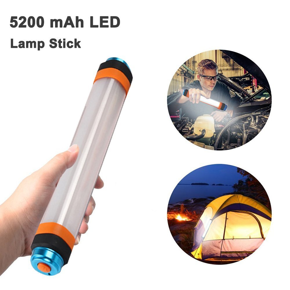 Veoker Portable Outdoor Camping Lantern Flashlight with Adjustable Brightness,5200mAh Power Bank,Mosquito Repellent,Camping Lamp for Emergency,Hiking,Fishing,Waterproof,6 Modes(White)
