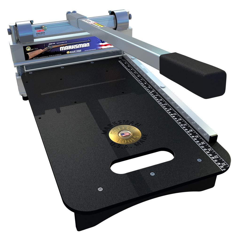 Bullet Tools 13'' EZ Shear Marksman Laminate Flooring Cutter For Pergo, Wood & More by Bullet Tools