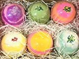 6 XL SHOPKINS Bath Bombs Gift Set w/Surprise in fun assorted scents and colors-The Island Bath & Body-Made In USA- Shea & Cocoa Butter