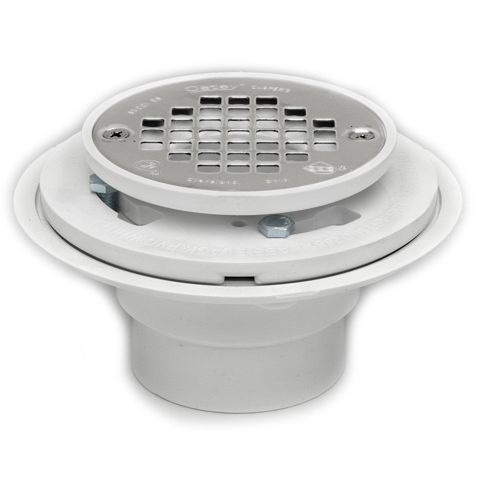 Amazon oatey 42213 pvc drain with stainless steel strainer amazon oatey 42213 pvc drain with stainless steel strainer for tile shower bases 2 inch or 3 inch oatey home improvement dailygadgetfo Images