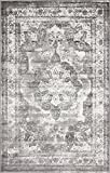 living room design ideas Traditional Persian Vintage Design Rug Gray Rug 4' 11 x 8' FT (244cm x 152cm) Sofia Area Rug Inspired Overdyed Distressed Fancy