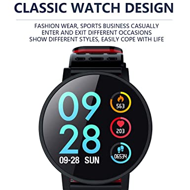 Amazon.com: Bluetooth Smart Watch-Star_wuvi Smart Sports Watch,1.3