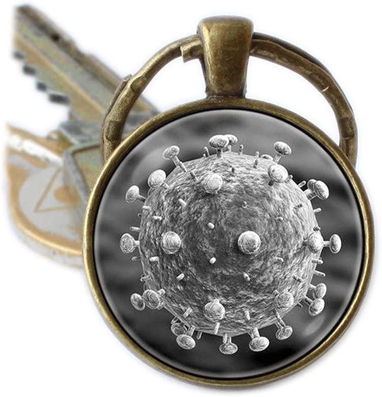 Virus Bacteria llavero de regalo de llavero ciencia ...
