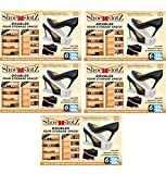 Shoe Slotz Storage Units in Ivory (Pack of 5) Made in USA