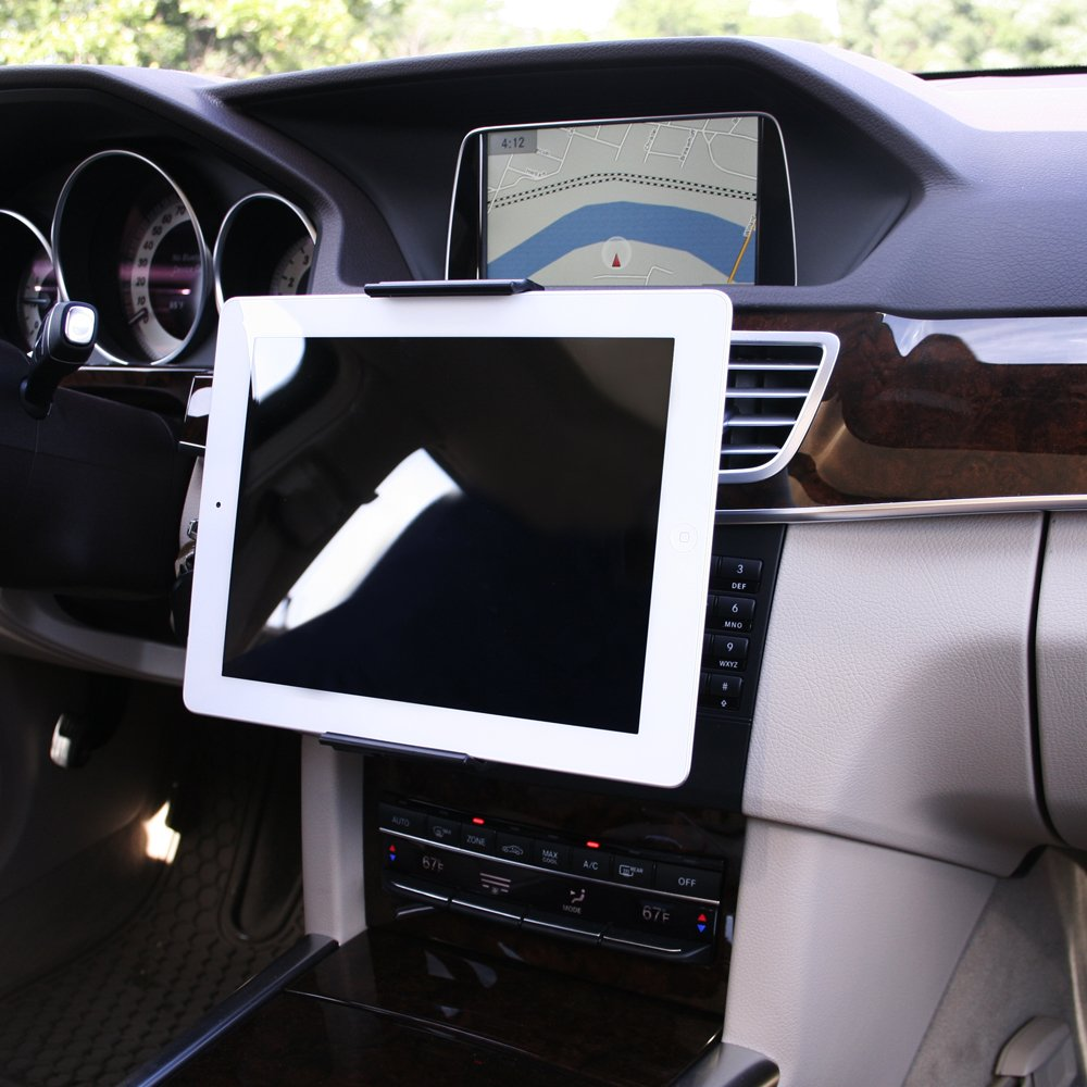 Google Nexus 7 and Microsoft Surface Pro 3 Koomus CD-Air Tab CD Slot Mount Universal CD Slot Tablet Car Mount Holder Cradle for iPad Air iPad Mini Galaxy Tab S