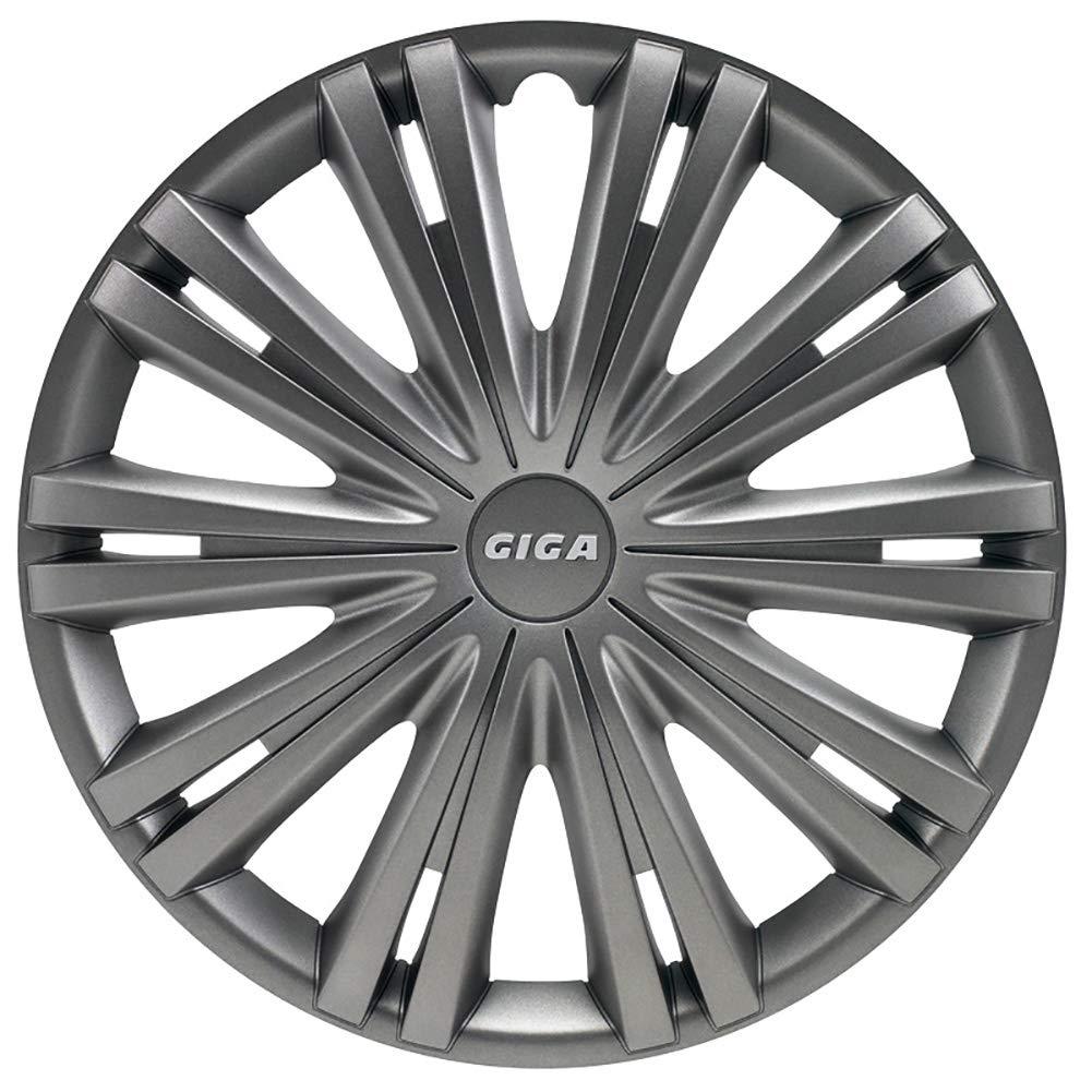 Set wheel covers Giga 16-inch gun-metal