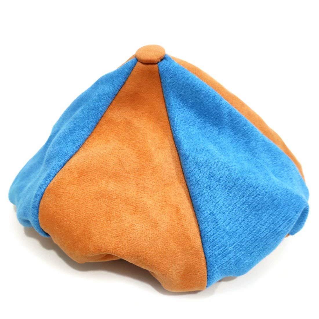 Blippi Hat, Orange Blippi Cap, Birthday Party Cosplay Prop for Unisex Children Kids