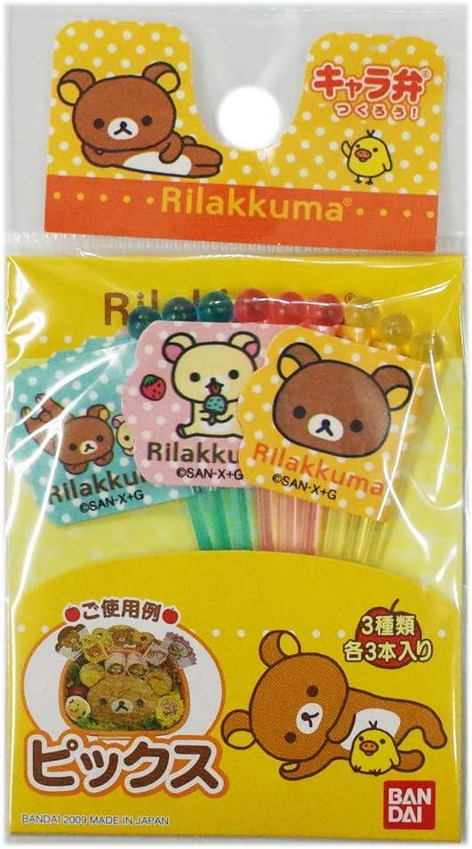 Torune Rilakkuma Bento Picks (Japan Import)