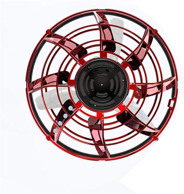 Eric giroscopio inductivo de vuelo de trayectoria libre, dron rotativo, juguete de juego de descompresión de vuelo automático, bola de helicóptero de inducción infrarroja interactiva con rotación de 3