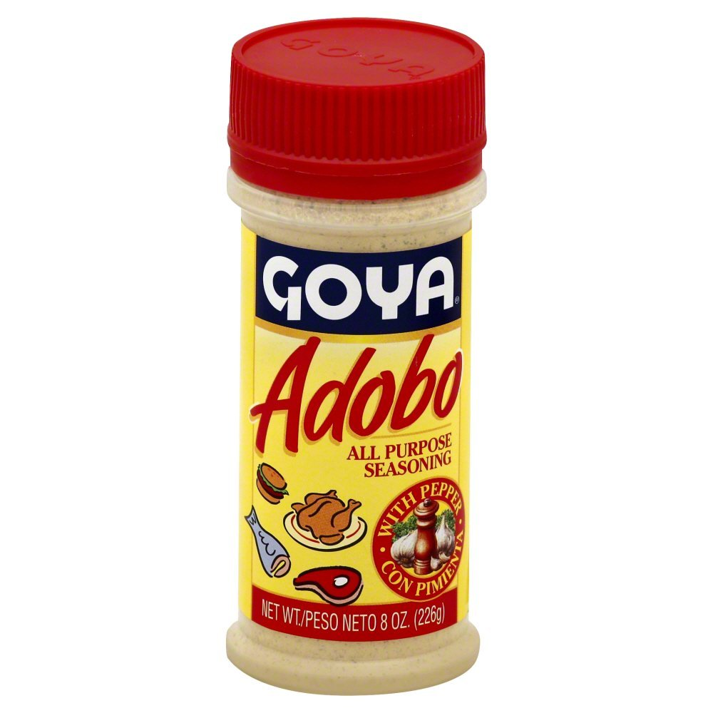 Goya Adobo with Pepper 8.0 OZ(Pack of 12)