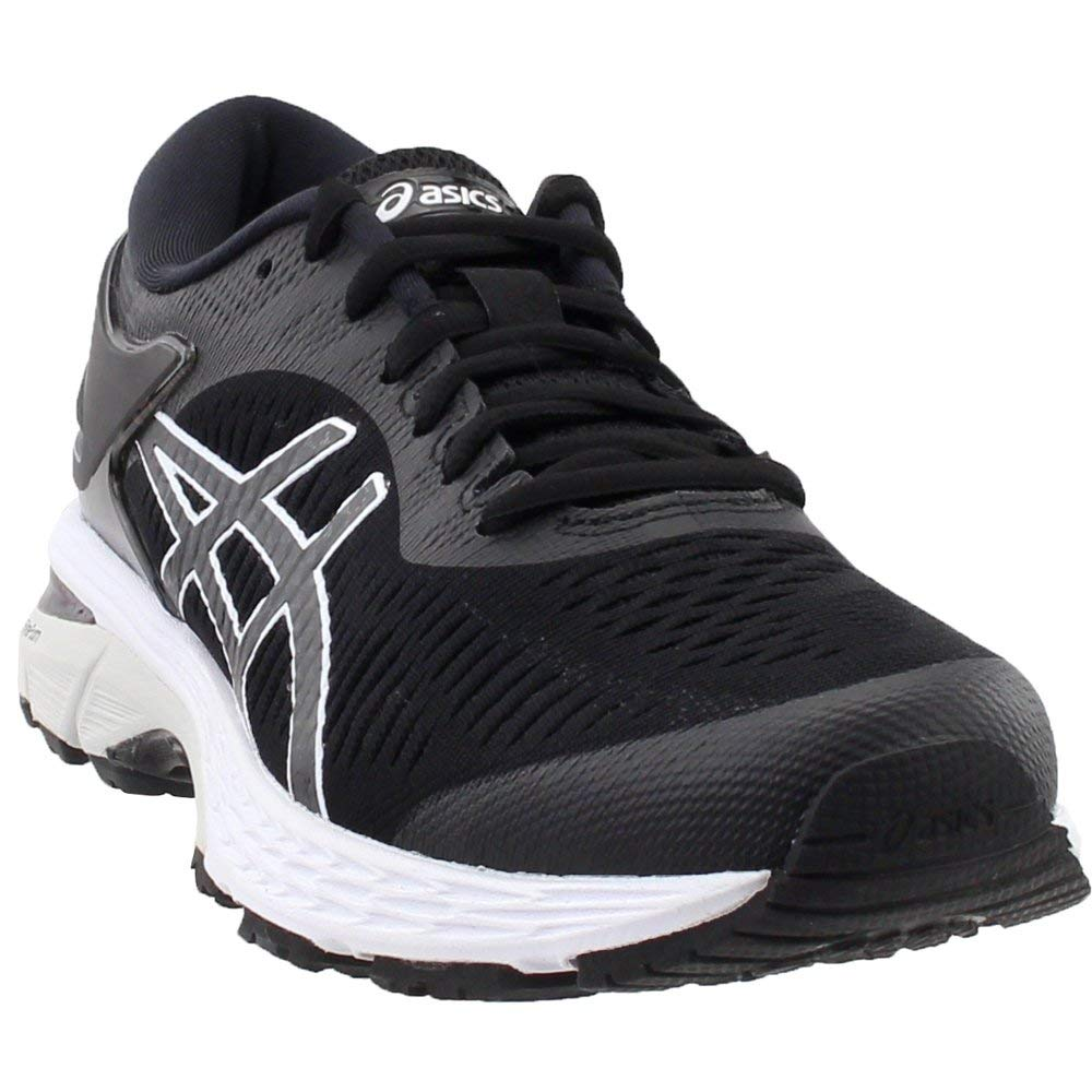 ASICS Gel-Kayano 25 Women's Shoe, Black/Glacier Grey, 6 B US