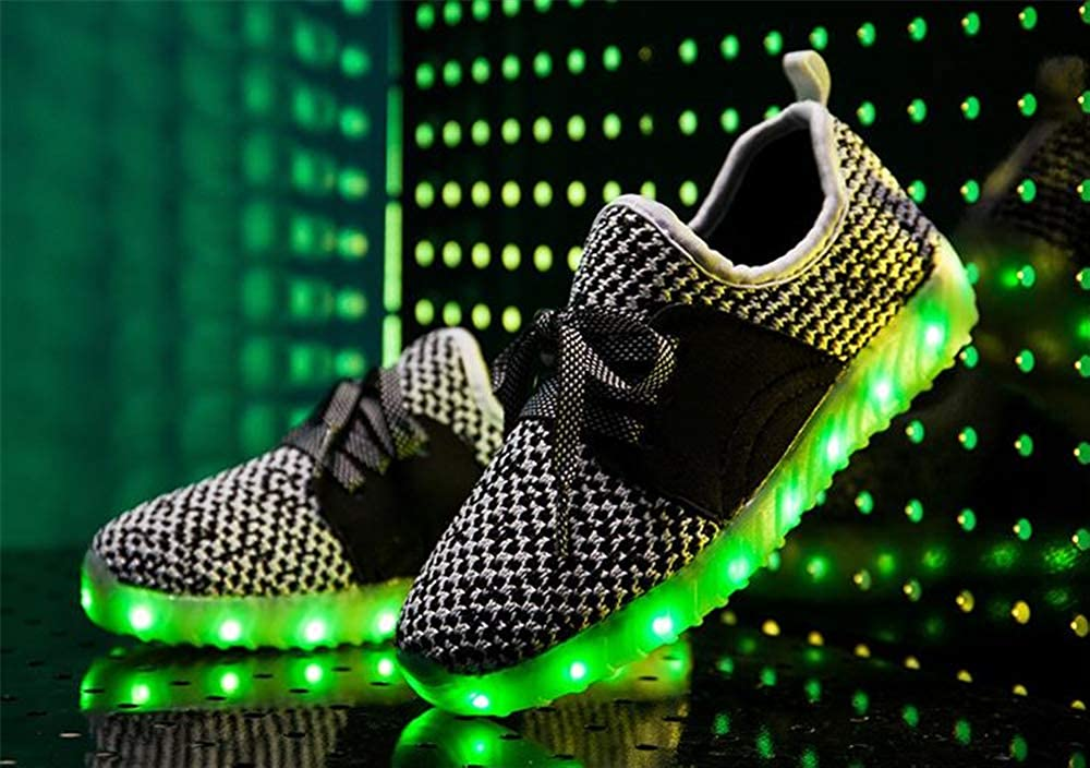 satisfied Light up Shoes-Flashing Sneakers Led Shoes Luminous Light Shoes for Boys Girls