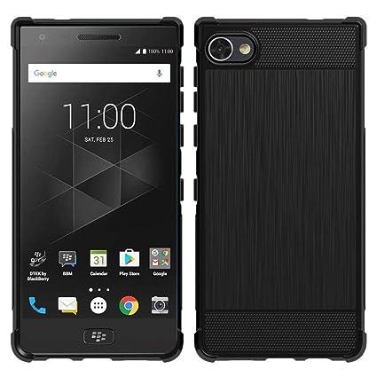 huge discount c8d29 8d0e3 BlackBerry Motion Case, PUSHIMEI Soft TPU Brushed Anti-fingerprint  Full-body Protective Phone Case Cover For BlackBerry Motion/BlackBerry  Krypton ...