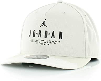 Nike Modern Heritage Gorra Línea Michael Jordan, Hombre, Blanco ...