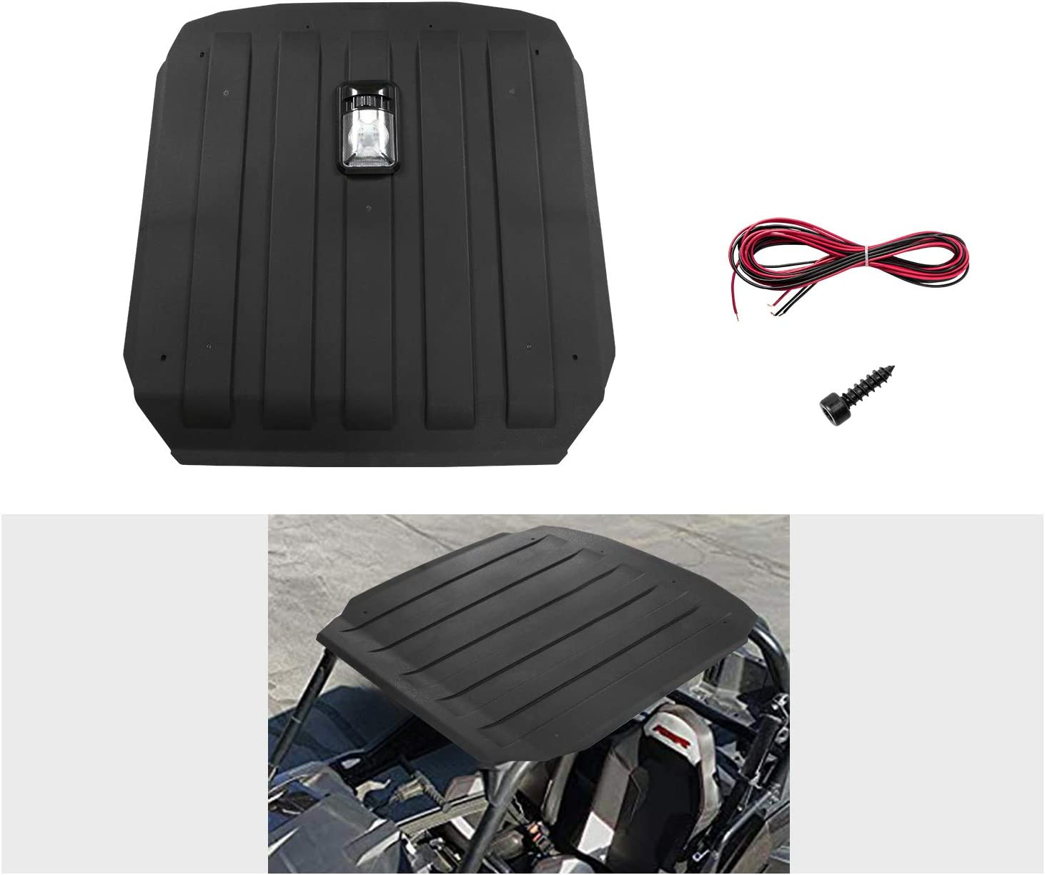 UTV Hard Top Roof A/&UTV PRO Plastic RZR Hardtop for Polaris RZR 900 XP 1000 Turbo 900 S Trail 2 Seater 2014-2020,TPE Material Accessories