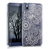 kwmobile Crystal Case for Huawei ShotX with Design ethnic - transparent Protection Case Cover clear in white transparent