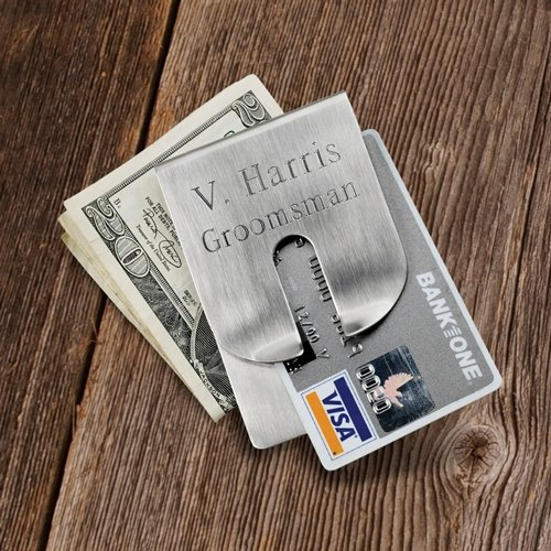 Personalized JDS Gifts Harrison Clever Money Clip