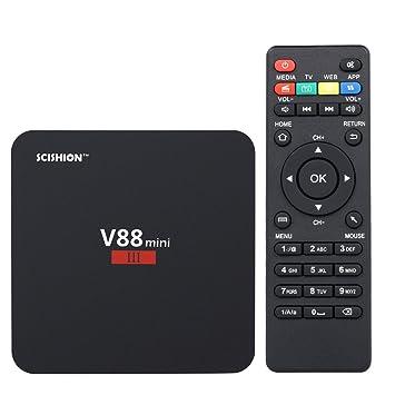 Docooler Android 7.1 TV Box Mini III Reproductor Multimedia RK3328 ...