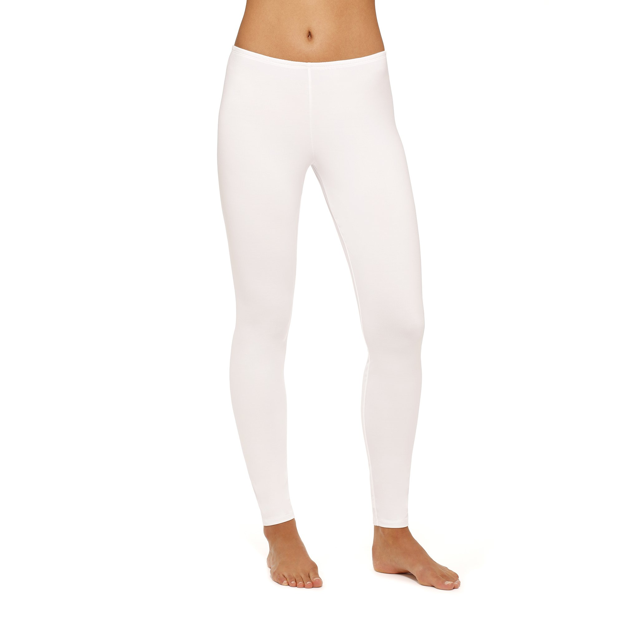 Womens Climate Right Thermal Bottom (Medium, White)