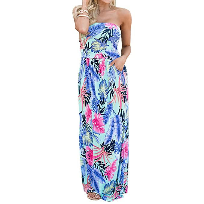 22b7e4e9ac ANRABESS Women Off Shoulder Maxi Floral Print Graceful Long Dress XL 1401  31 10 at Amazon Women s Clothing store