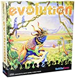 In Evolution, players create and adapt their own species in a dynamic ecosystem with hungry predators and limited resources. Traits like Hard Shell and Horns will protect you from carnivores, while a Long Neck will help you get food that others can't...