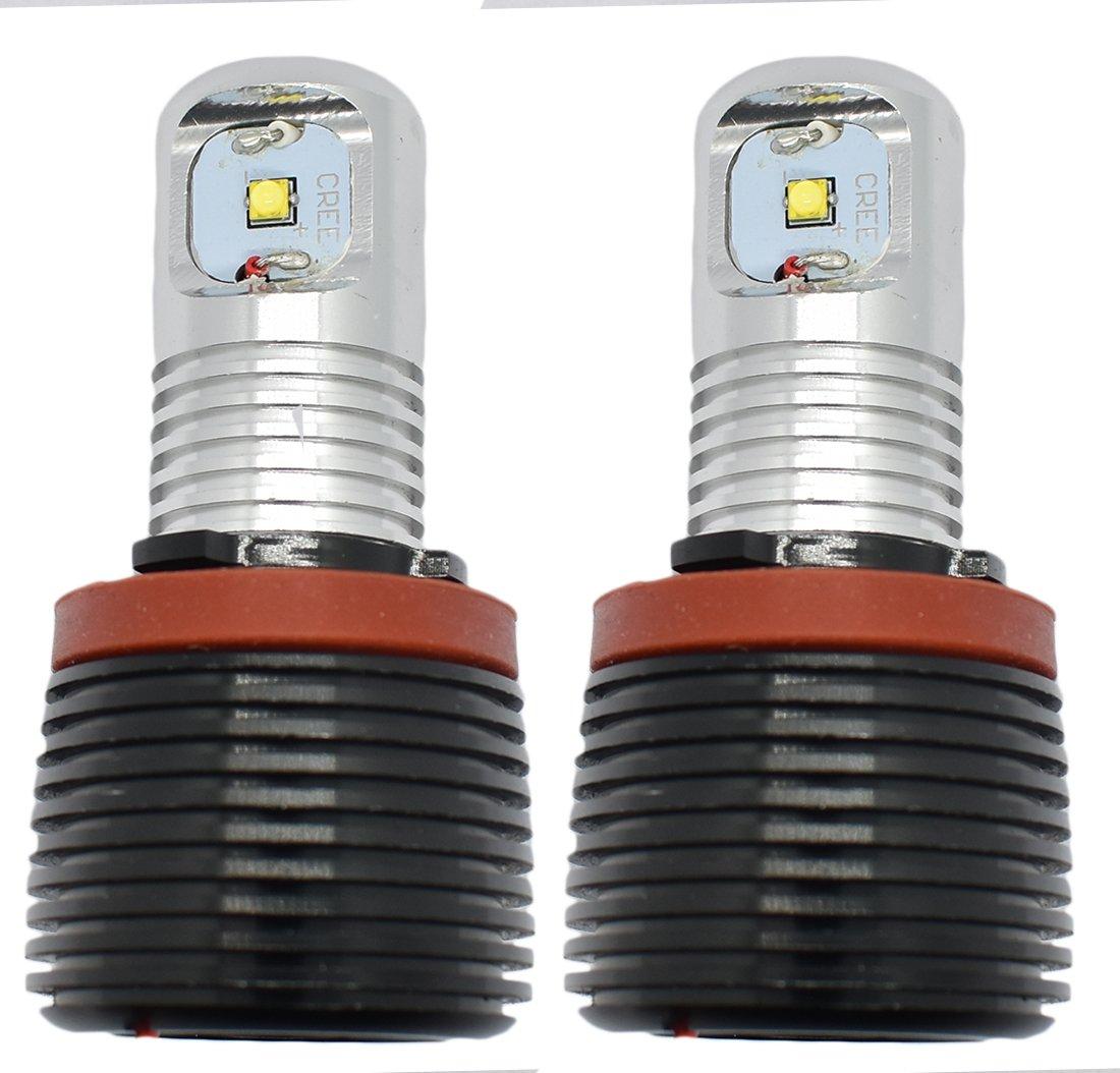 6W CREE H8LED Angel Eye Halo anello Marker lampadine MCK Auto