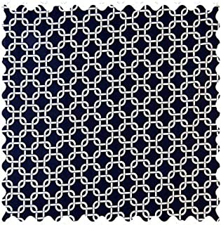product image for SheetWorld Navy Links Fabric - By The Yard