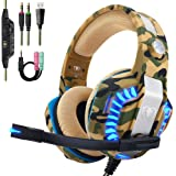 Beexcellent Pro Stereo Gaming Headset for PS4...
