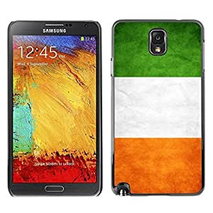 Shell-Star ( National Flag Series-Ireland ) Snap On Hard Protective Case For Samsung Galaxy Note 3 III / N9000 / N9005