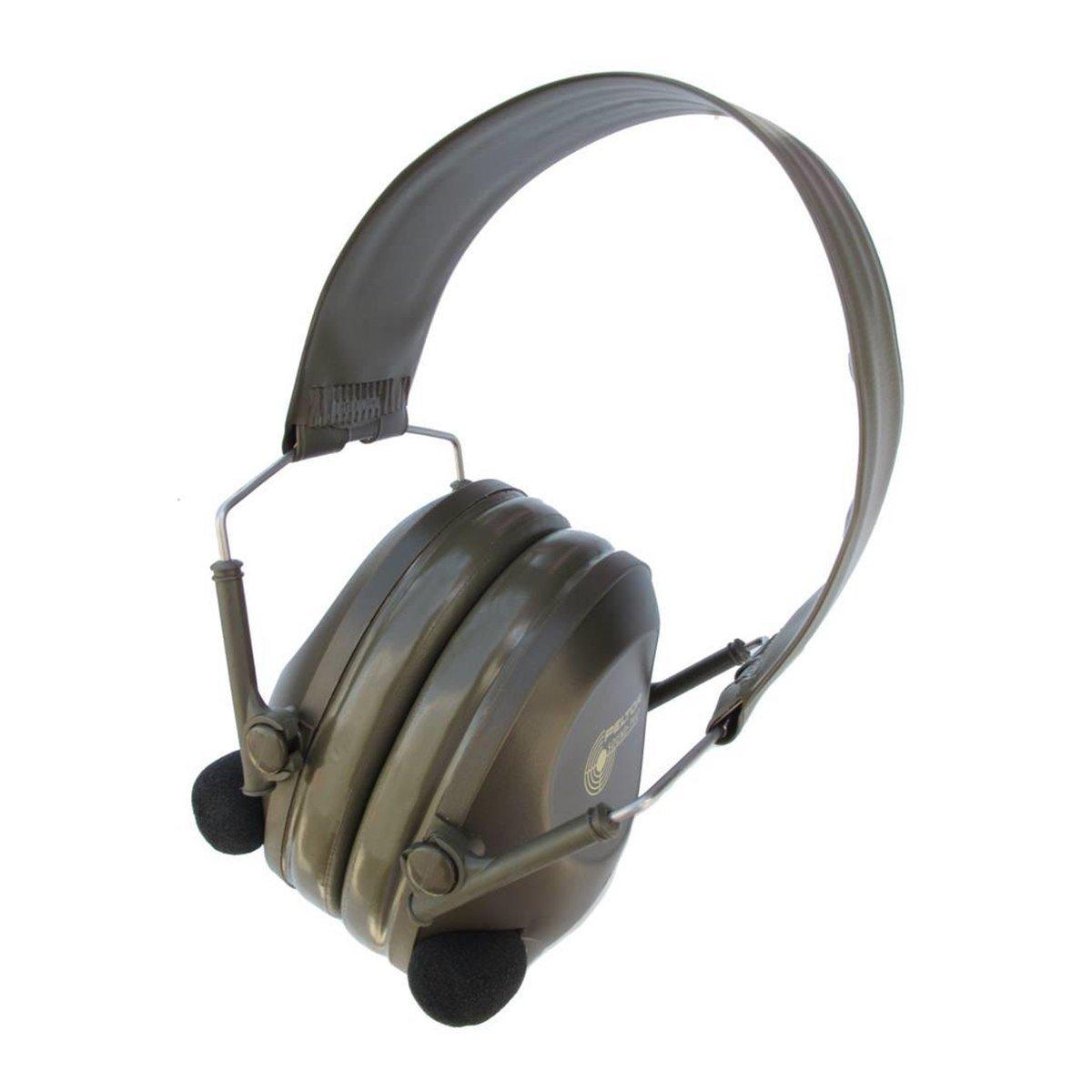 3M Peltor Sound-Trap MT15H67FB Green Over Head Foam Protective Earmuffs - 20 dB NRR - 318640-00240 [PRICE is per CASE]