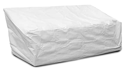 Koverroos 26450 Dupont Tyvek Deep 3-Seat Glider-Lounge Cover& White - 89 W X 36 D X 33 H In.