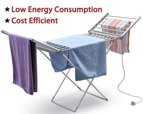 chinkyboo® y-heated tendedero eléctrico secador de ropa 230 W