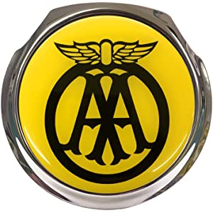 Aa Car Grill Badge Aa Key And 2 X Rac Keys High Quality Materials Automotive Club Badges Vehicle Parts & Accessories