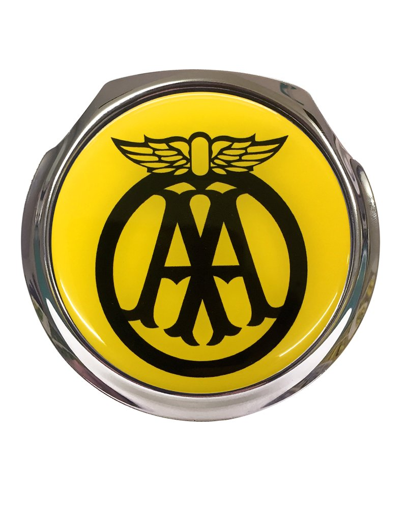 Classic AA Car Grille Badge With Fixings